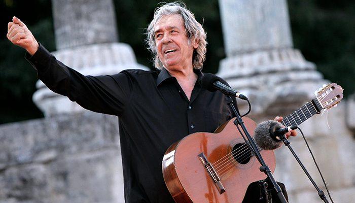 Paco Ibañez en el Teatro Olympia