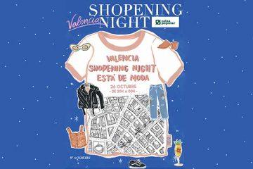 Shopening Night Valencia
