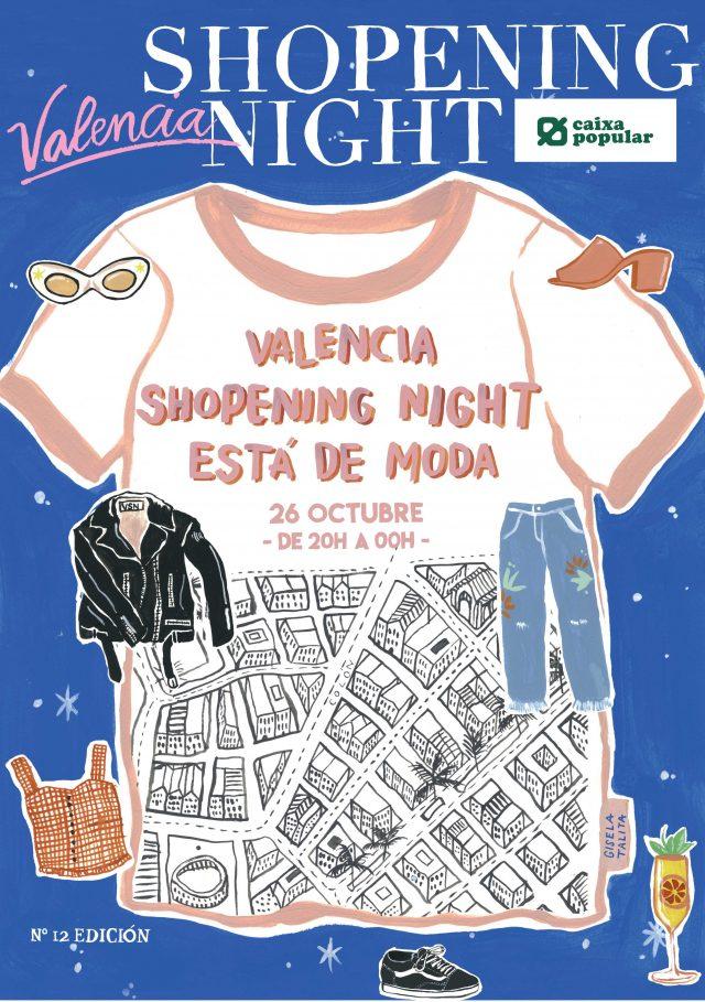 Noche de las compras en Valencia 2017