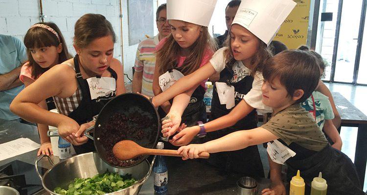 Taller De Cocina Para Niños En Foodu0026Fun Valencia