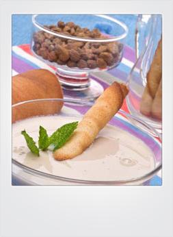 arroz y horchata