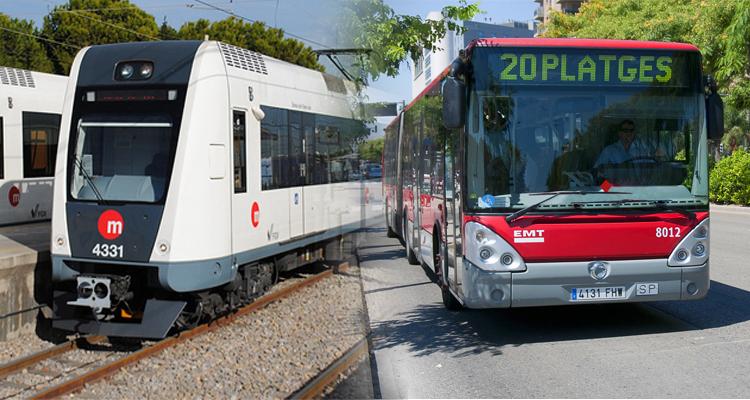EMT Valencia y MetroValencia
