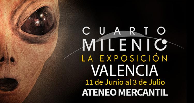 Exposición Cuarto Milenio en el Ateneo Mercantil | Love Valencia