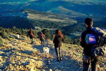 ruta castellón, senderismo, acampada