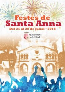 Cartel Festes Santa Anna 2016 Web