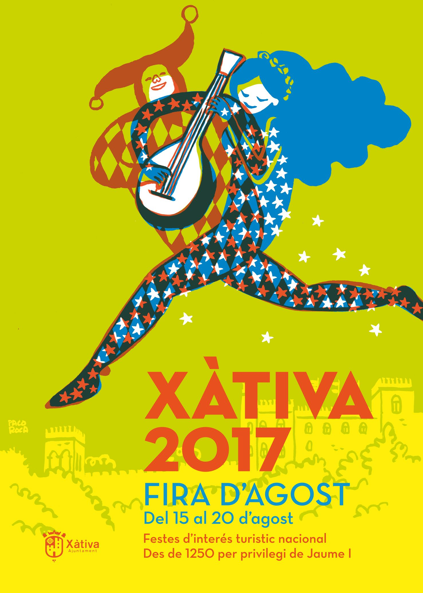 Cartel Fira d'Agost Xàtiva 2017