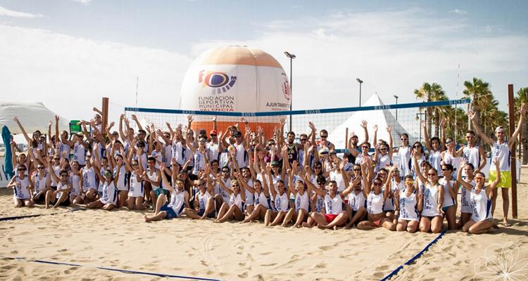 Torneo de Voley en Valencia