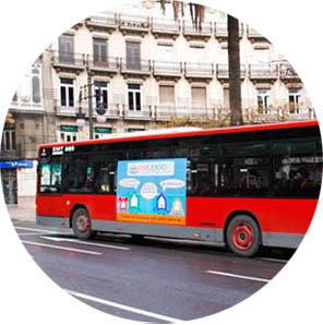 Autobus a Valencia