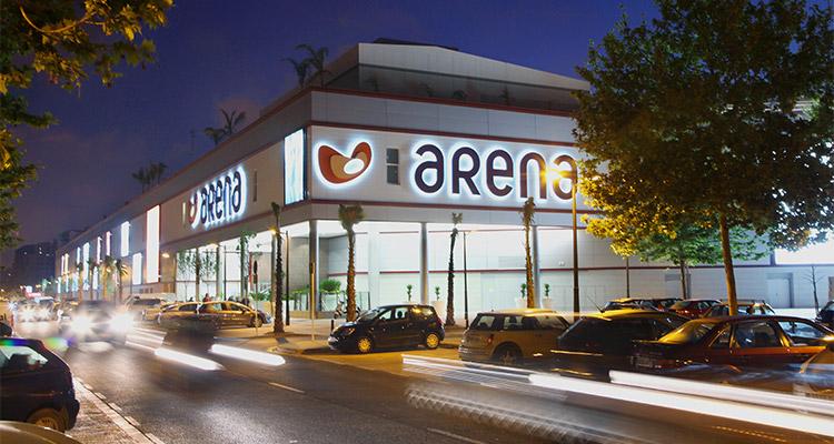 Centro Commerciale Arena, Shopping a Valencia