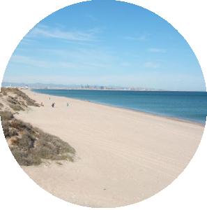 Spiaggia El Saler a Valencia
