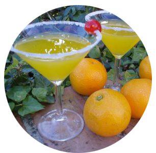 Agua de Valencia drink tipico