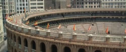 bandiere plaza de toros a valencia
