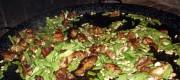 paella preparazione carne e verdure
