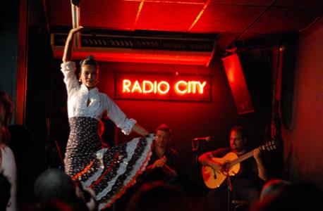 radio City, spettacoli di flamenco