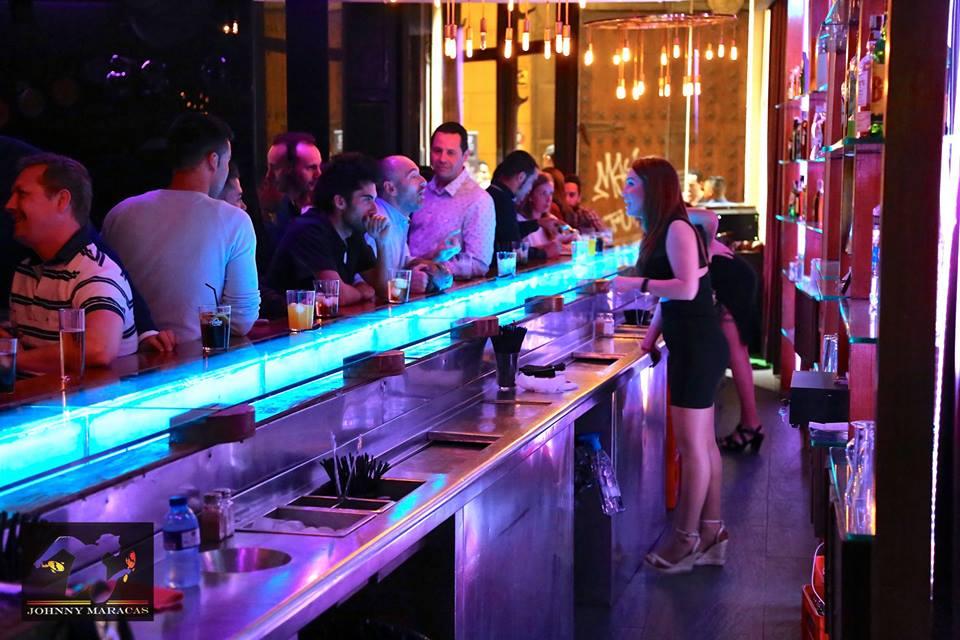 Jonny Maracas bar in Valencia