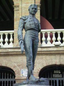 Statua in plaza de toros