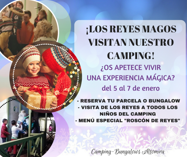 Navidad en Camping Altomira