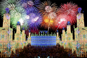 Feste popolari del fuoco a Valencia