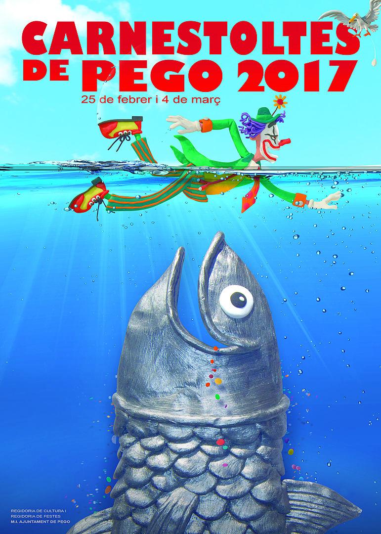Carnaval en Pego, Cartel