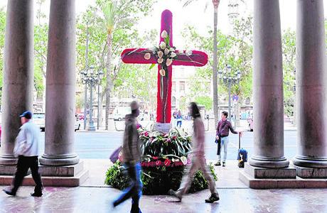 Cruces de Mayo a Valencia