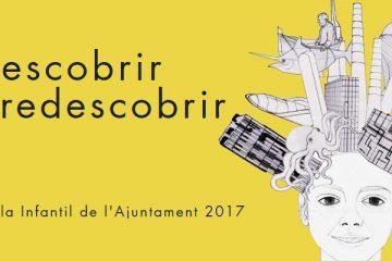 Boceto y lema Falla infantil Ayuntamiento de Valencia 2017