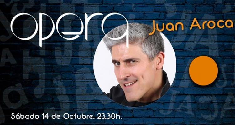 Monólogo Juan Aroca en Valencia