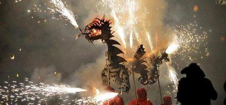 Cavalcata del fuoco, drago