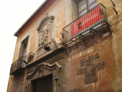 colegio del arte mayor de la seda a valencia