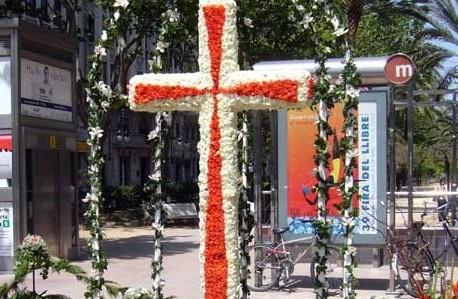 Croci floreali per las cruces de mayo