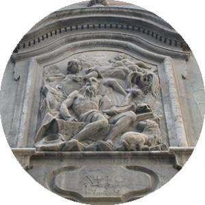Facciata del Colegio del Arte Mayor de la Seda