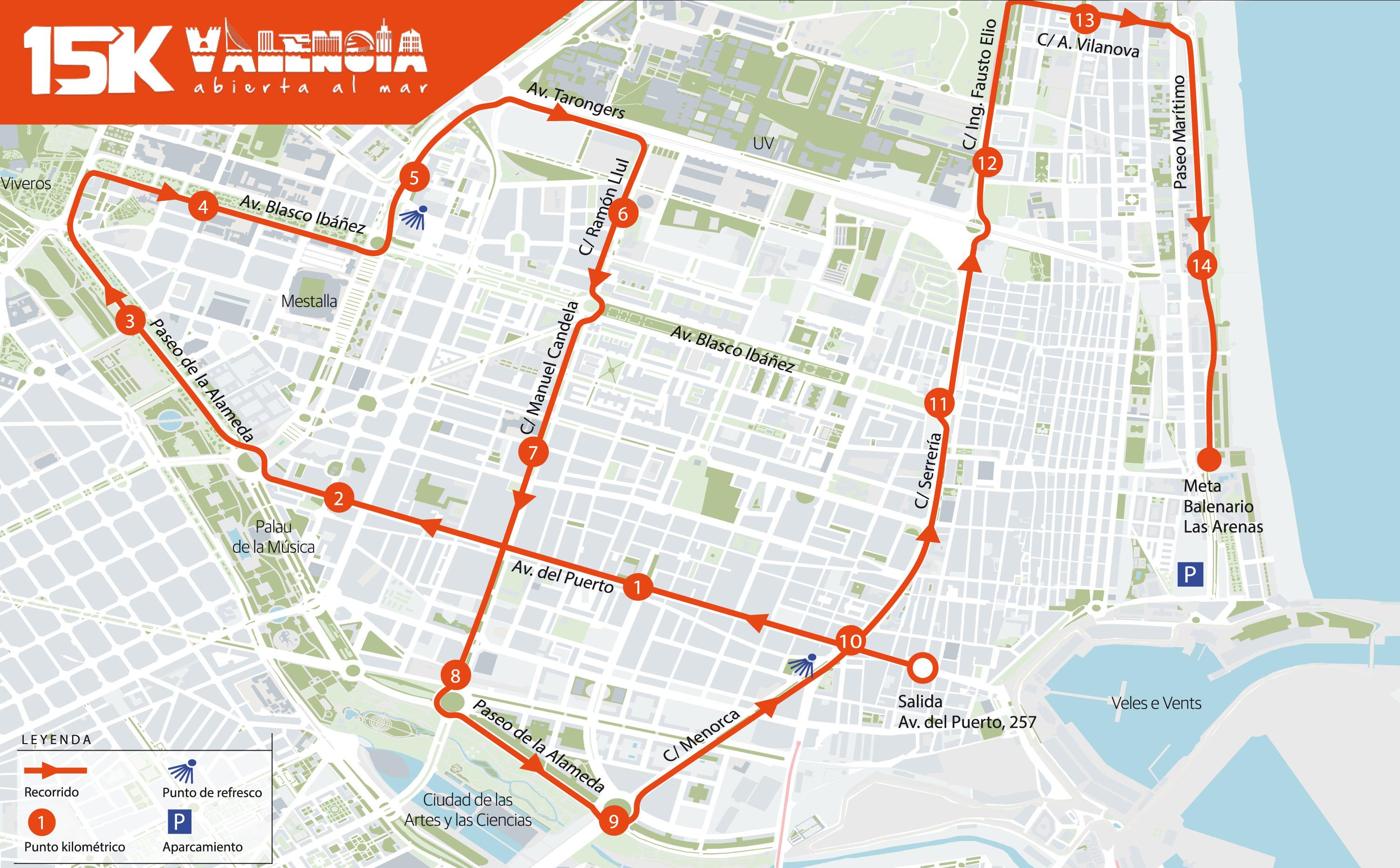 Valencia carreras populares