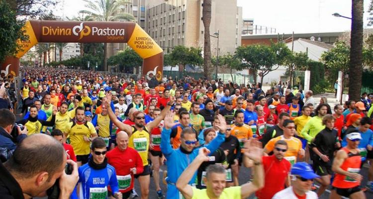 Circuito de carreras populares en Valencia