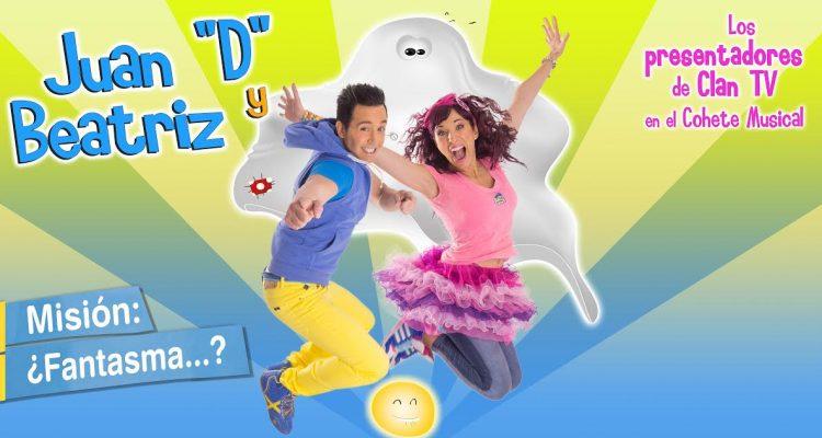 """Misión Fantasma Clan TV Juan """"D"""" y Beatriz"""