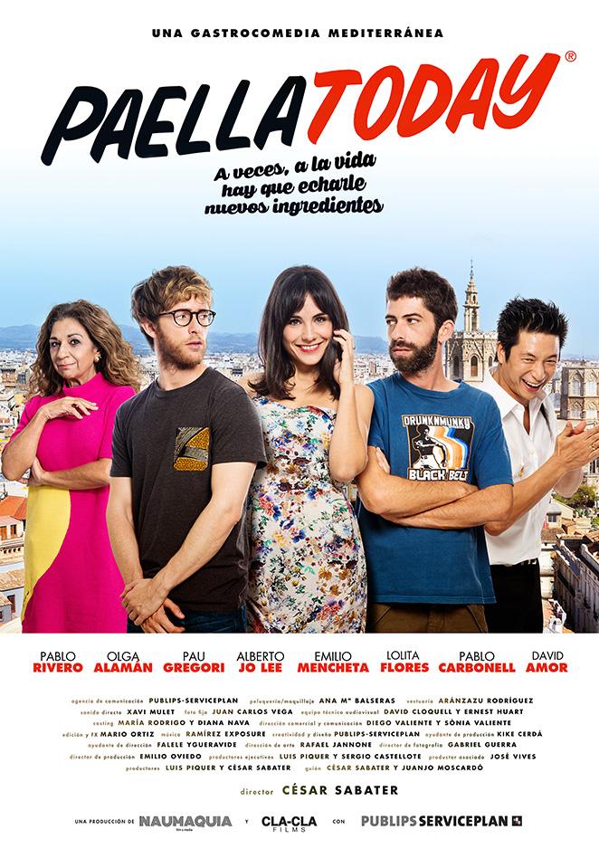 Película Paella Today