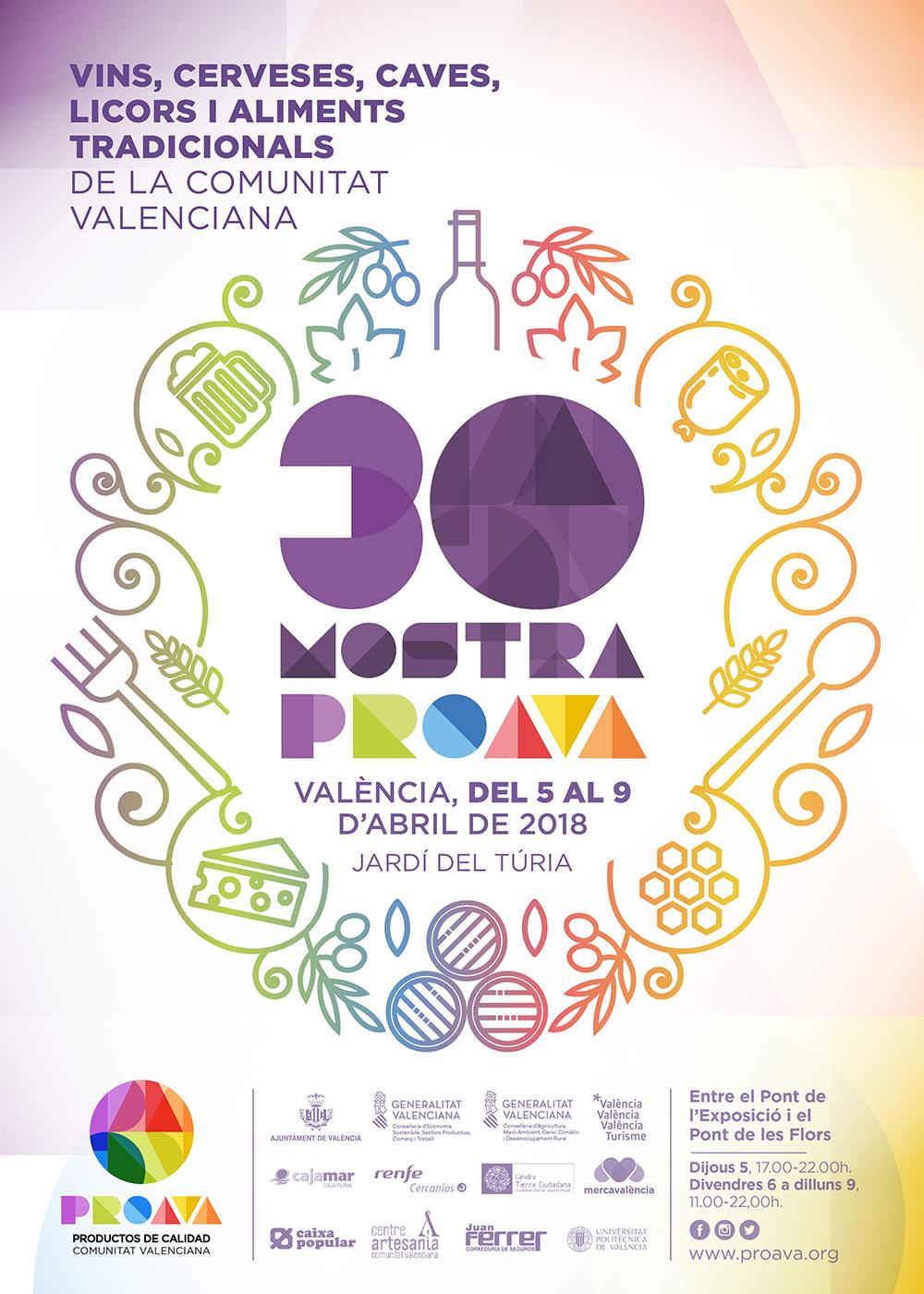 Mostra de vinos, cervezas, cavas y licores y mostra de alimentos de la comunidad valenciana