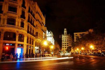 valencia notte strada vivere studenti