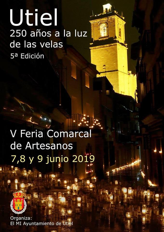 utiel 250 años a la luz de las velas 2019