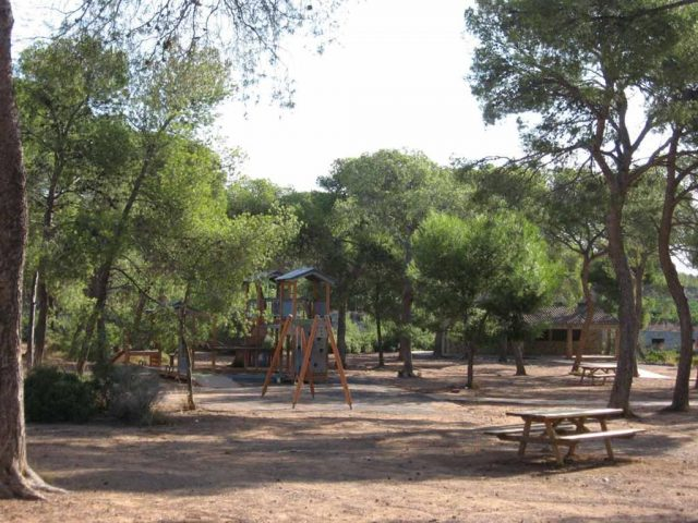 Picnic locations and places for children to play