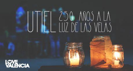 Utiel a la luz de las velas