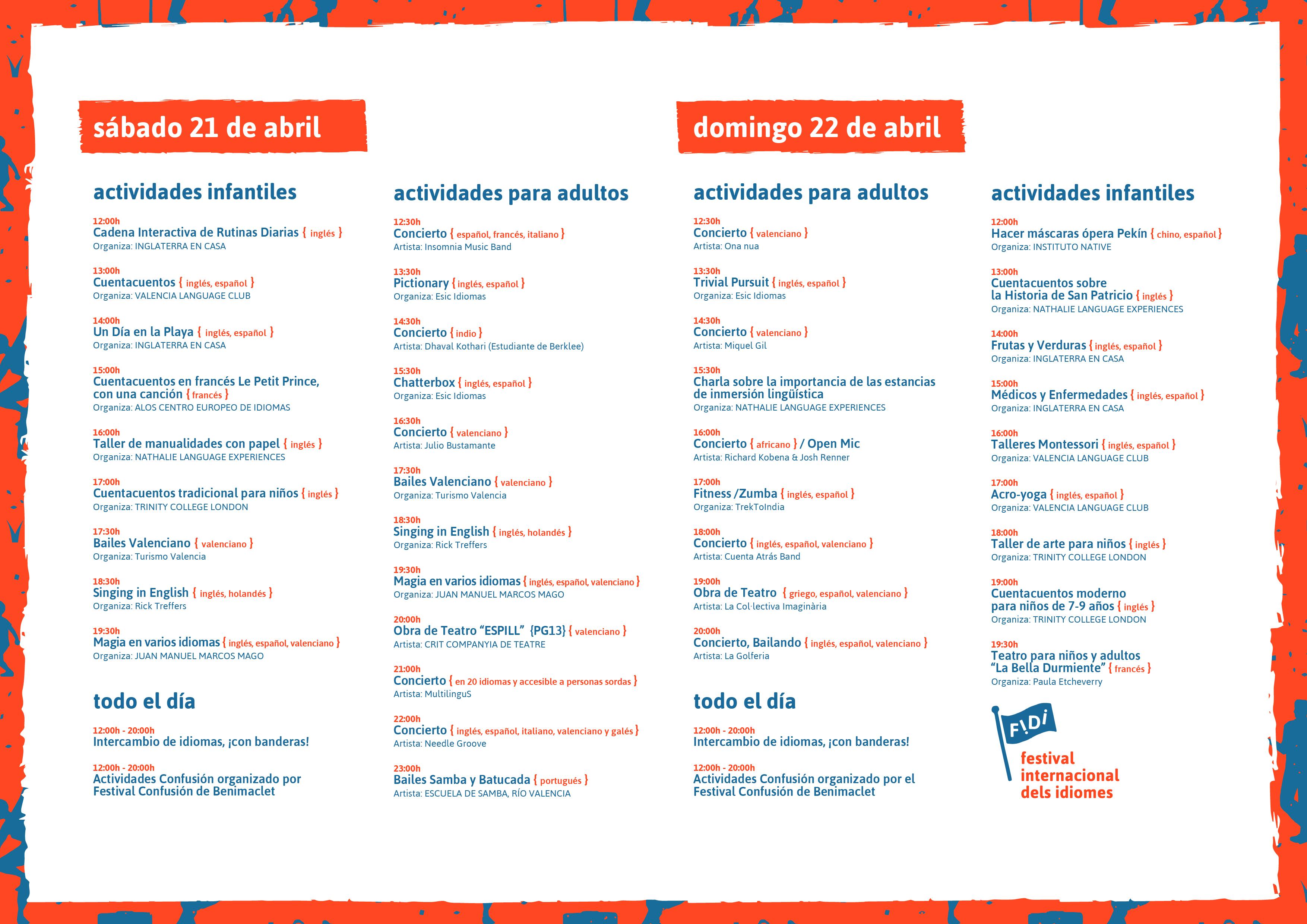 idiomas en valencia
