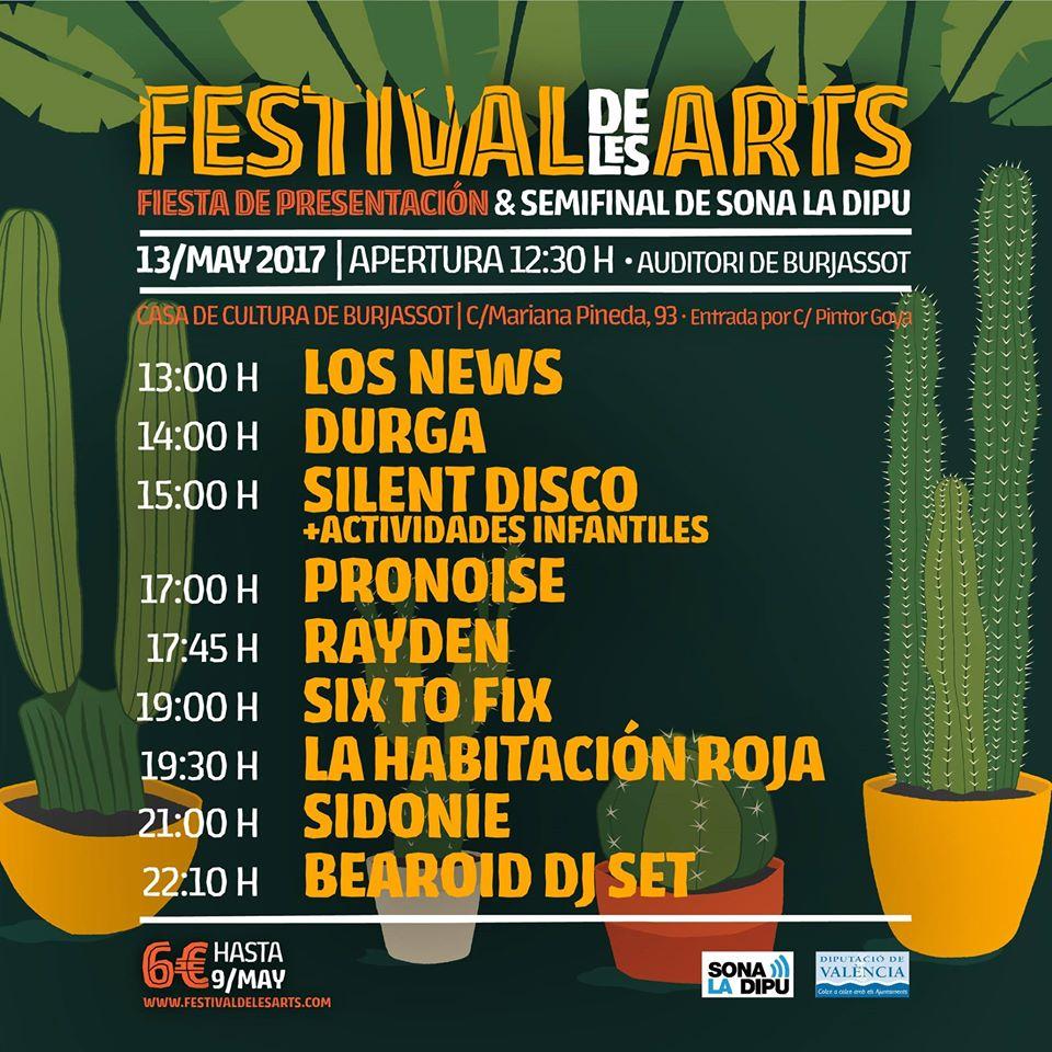 festival de les arts 2017 valencia