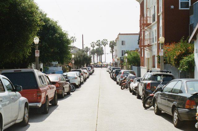 Beach parking Valencia