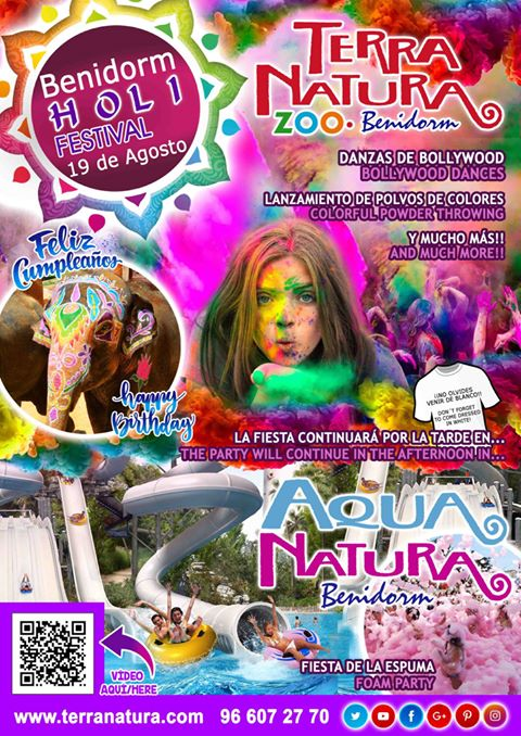 Holi Festival en Benidorm