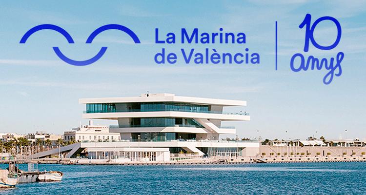 La Marina de València fiesta 10 aniversario