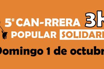 Can-rrera popular en Bioparc Valencia