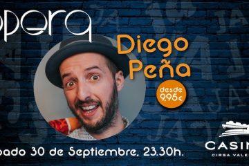 Diego Peña en Casino Cirsa Valencia