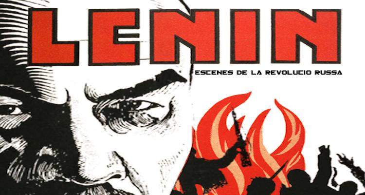 Lenin escenas de la revolución rusa