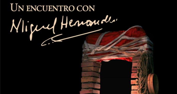 Representación Un encuentro con Miguel Hernández en Valencia