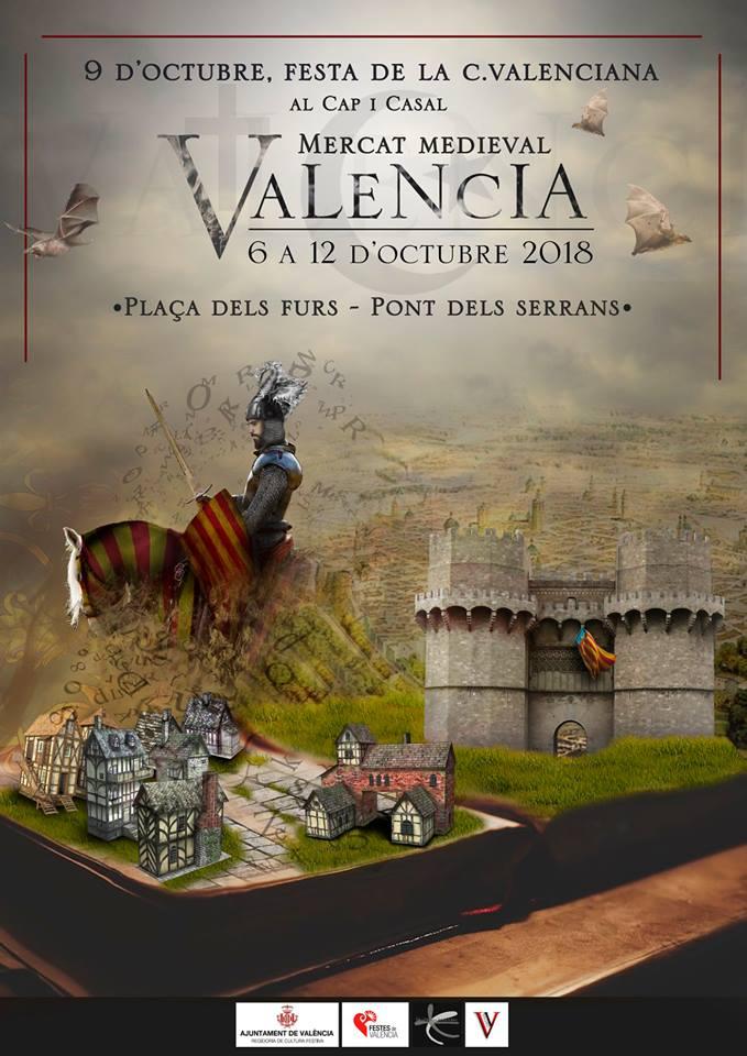 mercado medieval valencia 2018