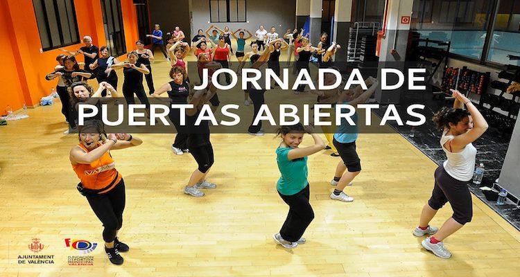 Jornada de Puertas Abiertas centros deportivos de Valencia